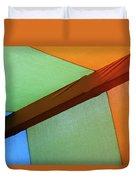 Tri Color Minimal  Duvet Cover