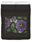 Triangle Surrounded Duvet Cover