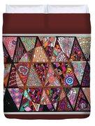 Triangularia Duvet Cover