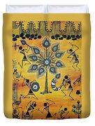 Tribals II Duvet Cover