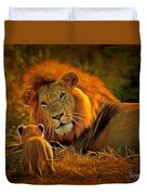 Tribute To Cecil Duvet Cover