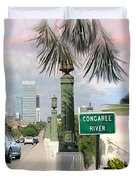 Tribute To Columbia Sc Duvet Cover