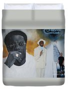 Tribute To Mr. Bernie Mac Duvet Cover