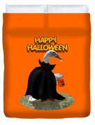 Trick Or Treat For Count Duckula Duvet Cover