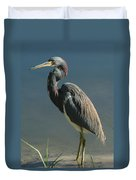 Tricolored Heron Duvet Cover