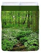 Trillium Woods Vi Duvet Cover