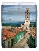 Trinidad - Cuba Duvet Cover