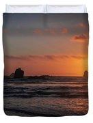 Trinidad Sunset Duvet Cover