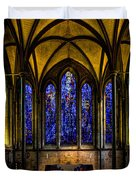 Trinity Chapel Salisbury Cathedral Duvet Cover