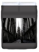 Trinity Church New York City Duvet Cover