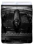 Trinity Church Pipe Organ Duvet Cover