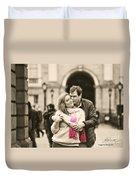 Trinity College Kiss Duvet Cover