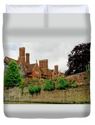 Trinity Hall From The Backs. Cambridge. Duvet Cover