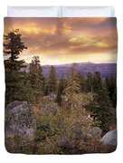 Trinity Mountains Duvet Cover