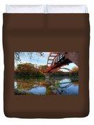 Triple Bridge Duvet Cover