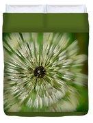 Triple Dandelion Duvet Cover