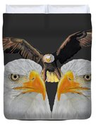 Triple Eagle Duvet Cover