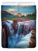 Triple Falls Cascades Duvet Cover