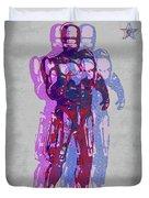 Triple Robocop Rbp Duvet Cover