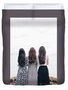 Triplets Duvet Cover