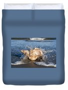 Triton Shell  Duvet Cover