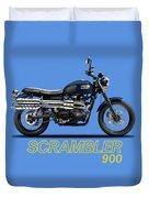 Triumph Scrambler 900 Duvet Cover