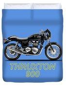 Triumph Thruxton Duvet Cover