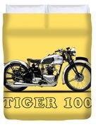 Triumph Tiger 100 1939 Duvet Cover