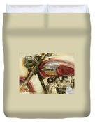 Triumph Tr6p Enhanced Duvet Cover
