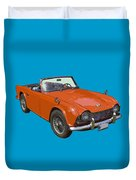 Triumph Tr4 - British - Sports Car Duvet Cover
