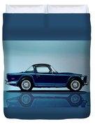 Triumph Tr5 1968 Painting Duvet Cover