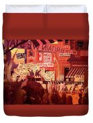 Triumphal Welcome Duvet Cover