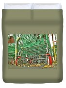 Trolley Convoy Duvet Cover