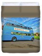 Trolleybus 862 Duvet Cover
