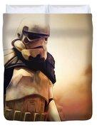 Trooper Landscape Duvet Cover