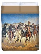 Troopers Moving Duvet Cover