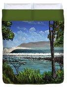 Tropic Vibrations Duvet Cover