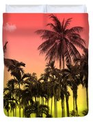 Tropical 9 Duvet Cover by Mark Ashkenazi