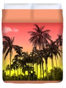 Tropical 9 Duvet Cover