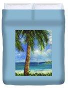 Tropical Beach One Duvet Cover