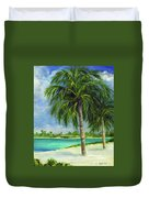 Tropical Beach Two Duvet Cover