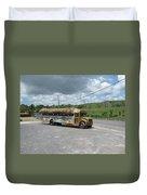 Tropical Bus Duvet Cover