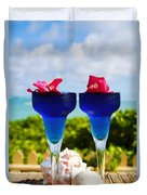 Tropical Cocktails Duvet Cover