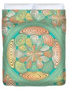 Tropical Color Abstract Duvet Cover