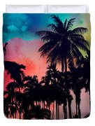 Tropical Colors Duvet Cover