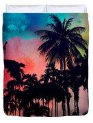 Tropical Colors Duvet Cover