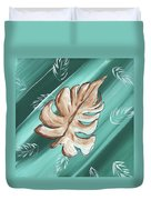 Tropical Dance 1 By Madart Duvet Cover