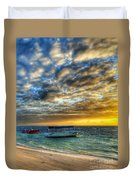 Tropical Dawn Duvet Cover