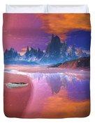 Tropical Dream Island Beach Duvet Cover