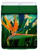 Tropical Eden Duvet Cover